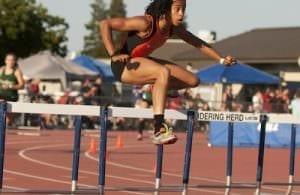 Woodword hurdles to the win, SportStars feature on track and field