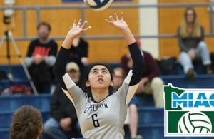 Lauren Pak Carleton College Volleyball