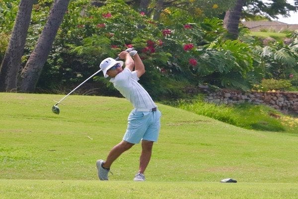 Hawaii's Top Jr. Golfers Take on Ka'anapali HSJGA Match Play