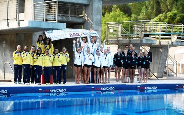 US Synchro Swimmers Win Several Medals At UANA Pan Americans