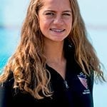 Yara Elian Northgate High School synchronized swimmer for Walnut Creek Aquanuts