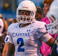 Capital Christian, Football, D'Marcus Ross