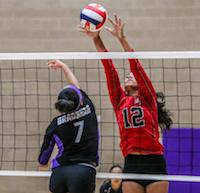Woodland Christian, Megan Trottier, Volleyball