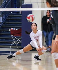 James Logan Volleyball, Abigail Viado
