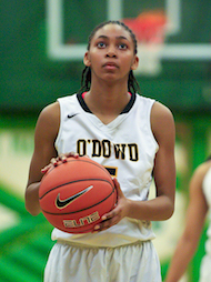 Bishop O'Dowd Girls Basketball, Daylee Dunn