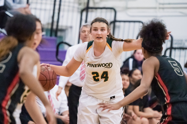 Pinewood Girls Basketball, Hannah Jump