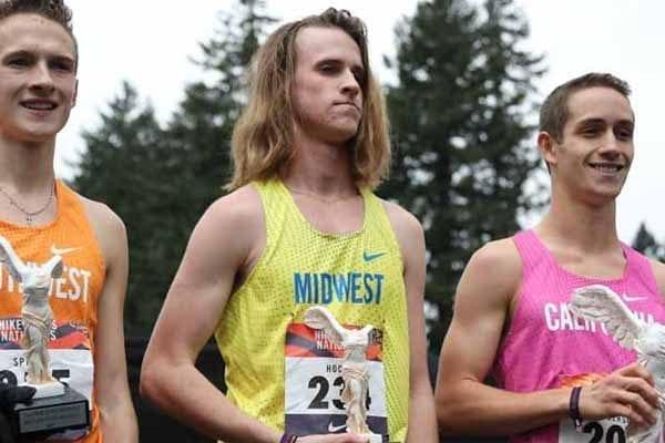 Redwood City kid Liam Anderson - Gatorade XC Athlete of the Year.
