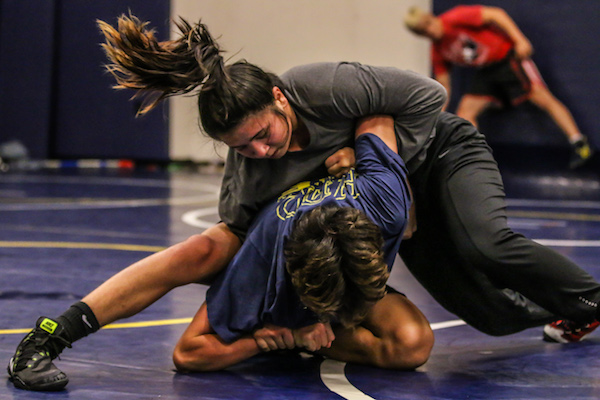 Girls Wrestling, CIF Championships, Emily Se