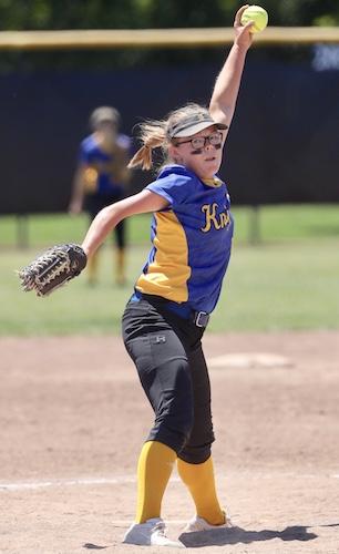 Madison de Graaf, Ripon Christian softball