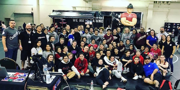 Girls Team California Wrestling Come up Winners