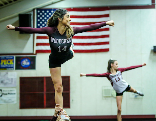 Competitive Cheer, Stunt, Woodcreek