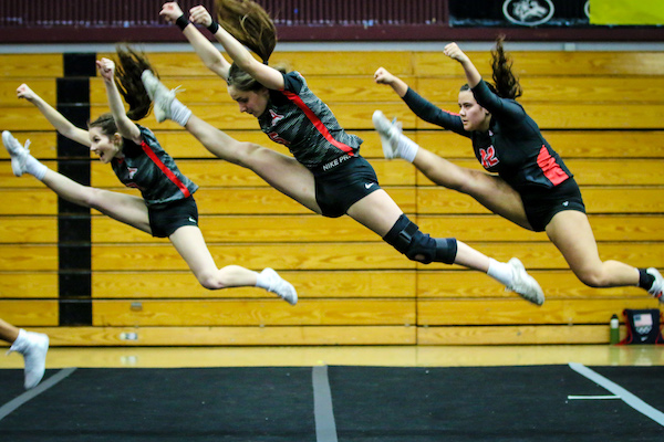 Competitive Cheer, Stunt