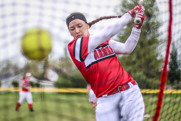 Woodland Christian softball, Anna Pires