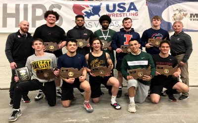2019 Junior Greco-Roman World Team Members