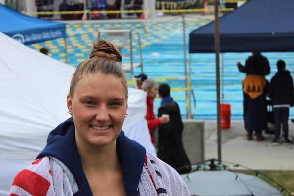 Zoie Hartman, Monte Vista, Swimming