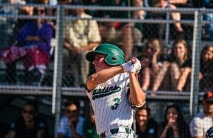 In his final high school at bat, Santiago belted a two-run homer in the sixth of the Spartans defeat of Heritage in the NCS D I championships