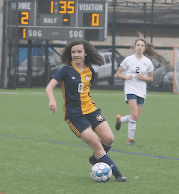 Sophie Jones become Menlo School-Atherton's first Gatorade State Player Of The Year winner in the 34-year history of the awards. The senior midfielder led the Knights to a 20-2-2 record and a Central Coast Section Div. I championship