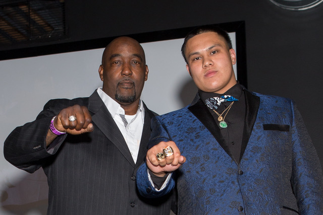 StrapemUpSports sponsored the Marvel A. Smith lineman award and championship rings, at this years' ESPYs.