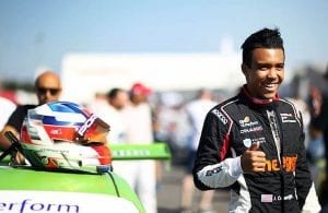 Leader of the pack. Jaden Conwright, Fremont's Porsche Carrera Cup Racer is currently second in the Porsche Carrera Cup Italy Scholarship Program.