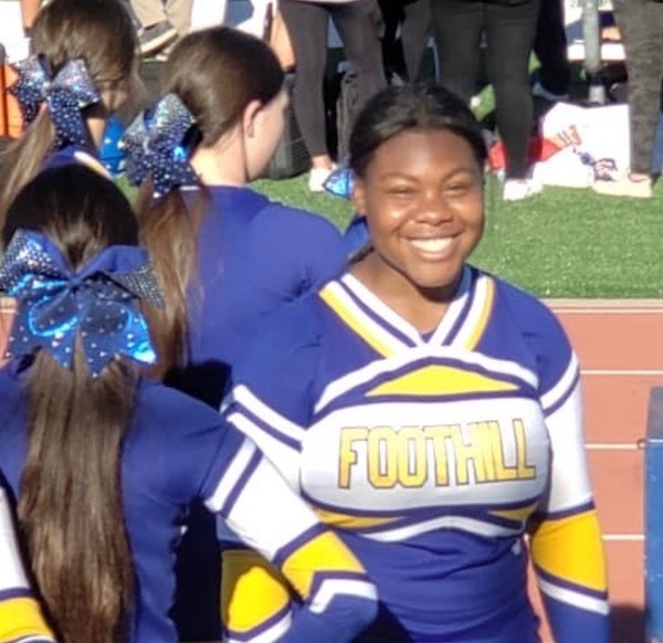 LOCAL CHEERLEADER Muna Bellot, sophomore from Foothill High School in Pleasanton will PERFORM IN THE VARSITY SPIRIT ALL-AMERICAN ORLANDO THANKSGIVING TOUR