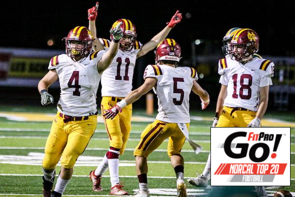NorCal Football Rankings, Cardinal Newman