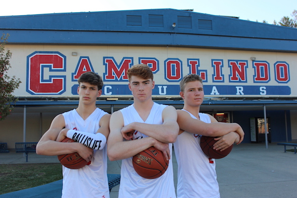 Campolindo boys basketball, Cougars, Mahaney